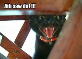 Aih saw dat !!!