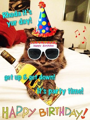 Hope yu hav a fantastik birfdai my frend