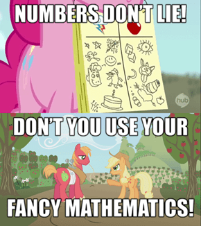 Pinkie's mathematics are the fanciest!