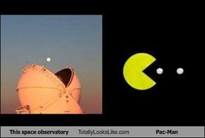This Space Observatory Totally Looks Like Pac-Man
