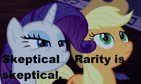 Rarity doesn't buy your line of B.S>