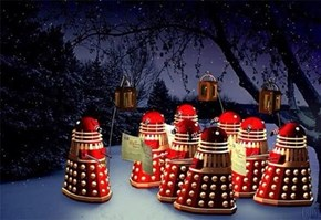 These Daleks Want to Wish You a Merry Extermination