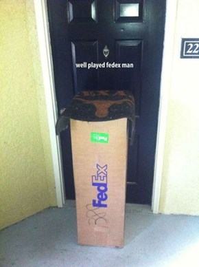 They'll be None the Wiser, Fedex