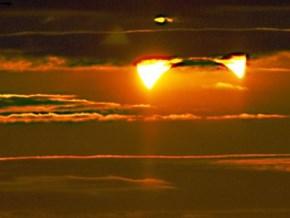 Rare Double Eclipse seen NYC Nov 3. 2013