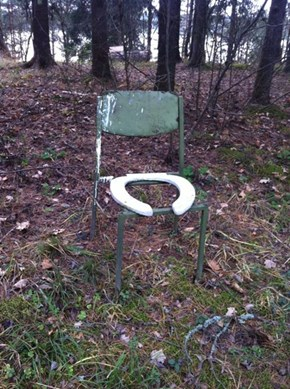 Forest-Friendly toilet