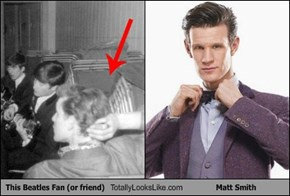 This Beatles Fan (or friend) Totally Looks Like Matt Smith