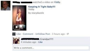 Another Reason to Never Friend Your Grandparents on Facebook