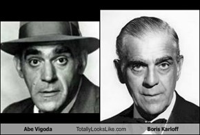 Abe Vigoda Totally Looks Like Boris Karloff