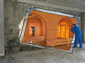 This Street Art is All About Perspective