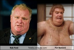 Rob Ford Totally Looks Like Fat Bastard