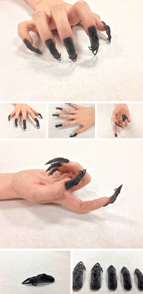 These 3D Printed Nails Mean Stepping Up Your Nail Art Game
