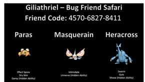 Giliathriel - Bug Friend Safari