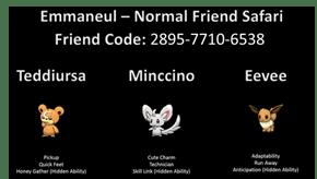 Emmanuel - Normal Friend Safari