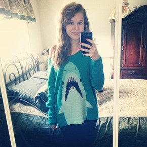 Every Week is Shark Week with This Sweater