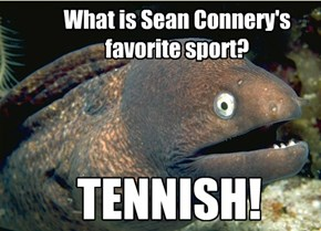 Sean Connery's Favorite Sport