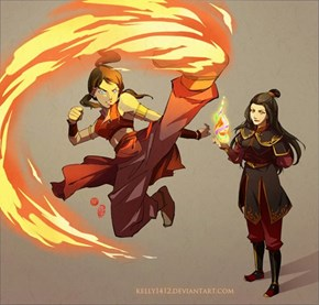 Who Better to Learn Fire Bending From?