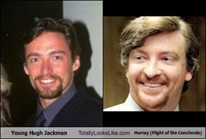 Young Hugh Jackman Totally Looks Like Murray (Flight of the Conchords)