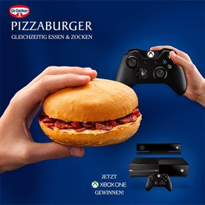 The U.S. Gets Doritos and Mountain Dew as Sponsors... Germany Gets the Pizzaburger
