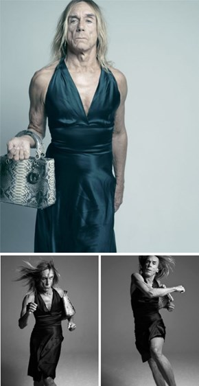Iggy Pop Makes That Dress Look Good