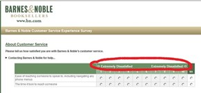 An Apt Customer Service Feedback Form?