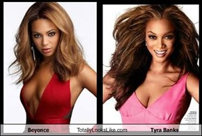 Beyonce Totally Looks Like Tyra Banks