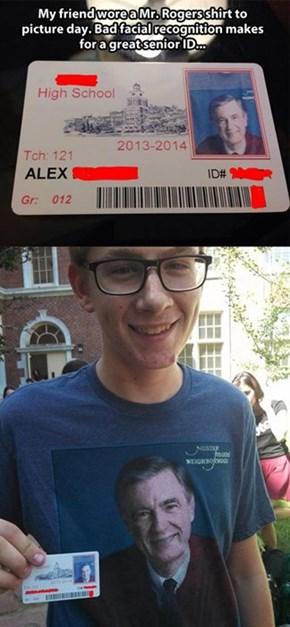 Behold the Greatest School ID