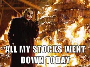 ALL MY STOCKS WENT DOWN TODAY