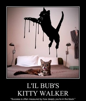 L'IL BUB'S KITTY WALKER