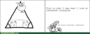 Thought of This in Geometry Class...