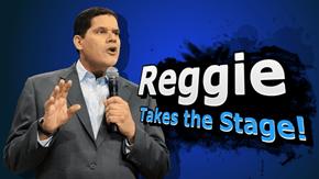 Reggie Takes the Stage