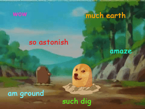 Diglett Wednesday: Dogelett