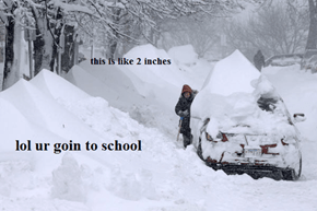 Going to School In the Snow Is Getting CRAZY