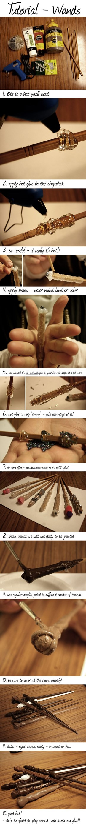 Make Your Own Wicked Wand