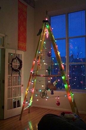The Lazy Man's Christmas Tree