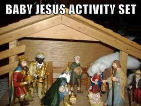 BABY JESUS ACTIVITY SET