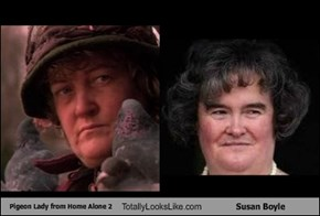 Pigeon Lady from Home Alone 2 Totally Looks Like Susan Boyle