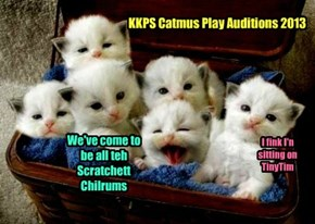 KKPS Catmus Play Auditions 2013