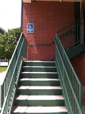 The Entrance for the Disabled, Assuming You're Also a Cyborg
