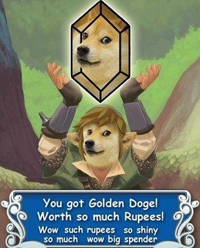 Wow. Such Rupees. So Much. Exciting. Amaze.