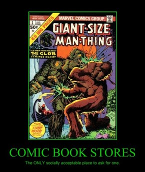 COMIC BOOK STORES