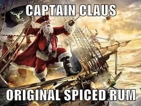 CAPTAIN CLAUS  ORIGINAL SPICED RUM