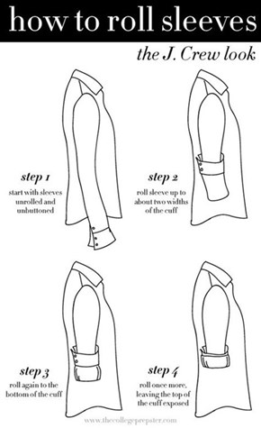 How to Roll Up Your Sleeves with Style