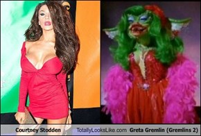 Courtney Stodden Totally Looks Like Greta Gremlin