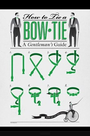 How to Gentlemen Up Your Bow Tie Game!