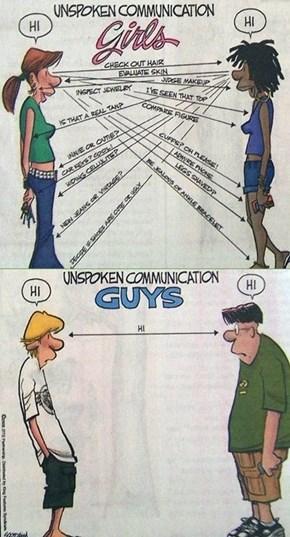 "The Subtlety of Men, Courtesy of ""Zits"""
