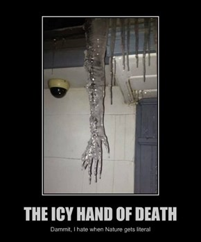 THE ICY HAND OF DEATH