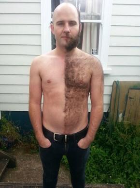 Half of a Shave Job