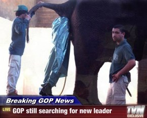 Breaking GOP News - GOP still searching for new leader
