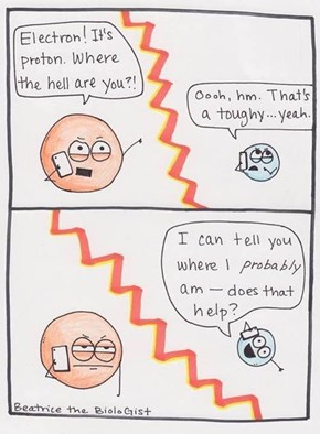 Electrons Are Rather Unreliable