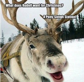 Lame Joke Reindeer